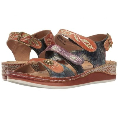 スプリングステップ L'Artiste by Spring Step レディース サンダル・ミュール シューズ・靴 Sumacah Camel