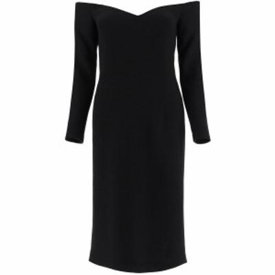 LAUTRE CHOSE/ロートレショーズ ドレス BLACK Lautre chose crepe dress heart レディース B1510993047 ik