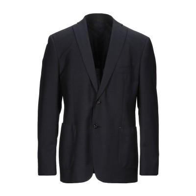 トネッロ TONELLO テーラードジャケット ダークブルー 56 バージンウール 92% / モヘヤ 8% テーラードジャケット