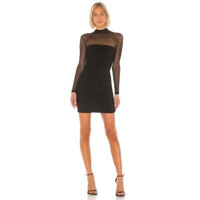 ノーキー Nookie レディース ワンピース ミニ丈 ワンピース・ドレス Poison Long Sleeve Mini Dress Black