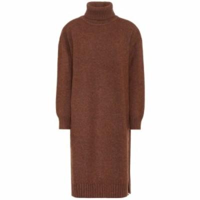 レジーナ ピヨ Rejina Pyo レディース ワンピース ワンピース・ドレス Eloise wool-blend turtleneck dress Brown