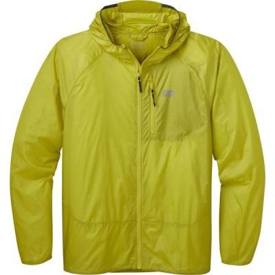 アウトドアリサーチ Outdoor Research メンズ ジャケット フード ウィンドブレーカー アウター Helium Wind Hooded Jacket Zinger