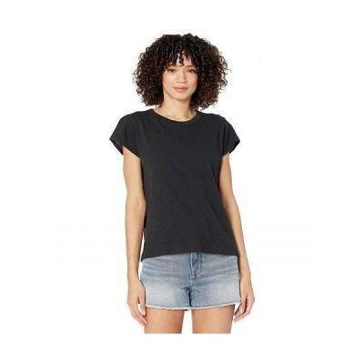 Madewell レディース 女性用 ファッション Tシャツ The Perfect Vintage Tee - True Black