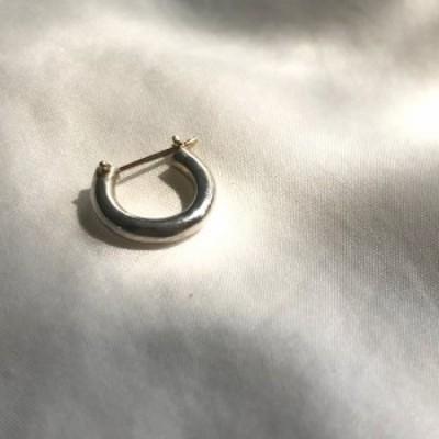 イロンデール エペパン hirondelle et pepin / silver sp-19fw-21 シルバークロッシング ピアス1 (片方タイプ) レディース ギフト プレゼ