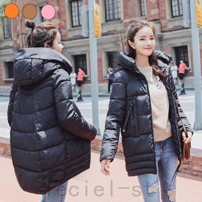 大きいサイズ 中綿ジャケット レディース ブルゾン コート 中綿コート ダウンジャケット アウター