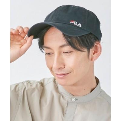 帽子 キャップ 【FILA】SMALL LOGO CAP / 【フィラ】スモールロゴ キャップ オーバーライド