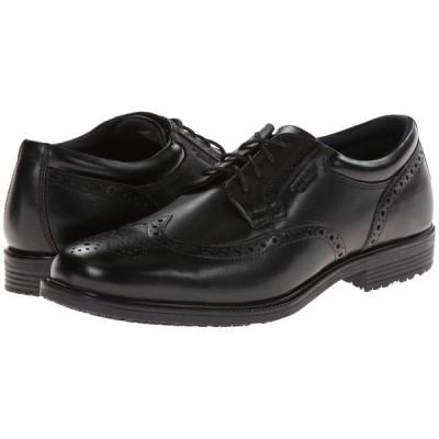 ロックポート Rockport メンズ 革靴・ビジネスシューズ ウイングチップ シューズ・靴 LTP Wing Tip Black WP Leather