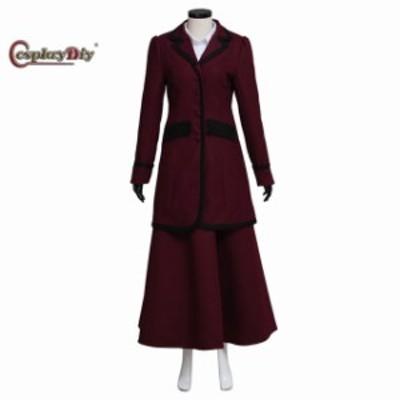 高品質 高級コスプレ衣装 ドクター・フー 風 オーダーメイド コスチューム Doctor Who Missy Mistress Suit Costume
