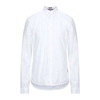 ゲス GUESS シャツ ホワイト XS コットン 97% / ポリウレタン 3% シャツ