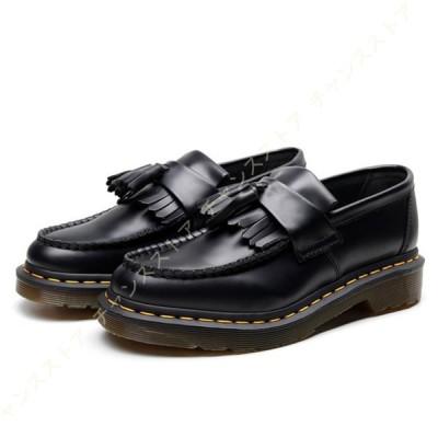 ローファー パンプス レディース シンプル 太ヒール フラット 厚底 スリッポン シューズ 黒 軽量 おしゃれ 歩きやすい かわいい カジュアル 学生靴 コスプレ