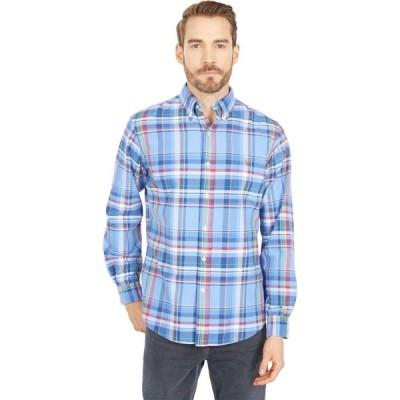 ラルフ ローレン Polo Ralph Lauren メンズ シャツ ワイシャツ トップス Classic Fit Plaid Oxford Shirt Blue/Red Multi