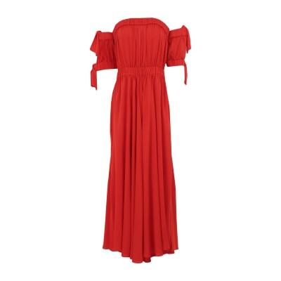 ミリー MILLY 7分丈ワンピース・ドレス レッド 10 シルク 92% / ポリウレタン 8% 7分丈ワンピース・ドレス