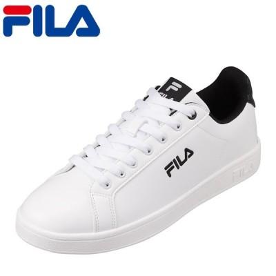 フィラ FILA FC-4206 メンズ | スニーカー ローカット | 小さいサイズ対応 大きいサイズ対応 | コートタイプ | ブラック×ホワイト
