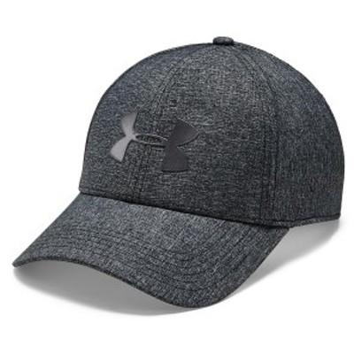 アンダーアーマー スポーツアクセサリー 帽子 ADJUSTABLE AIRVENT COOL CAP 1351412 001 メンズ ONESIZE BLK/MLO