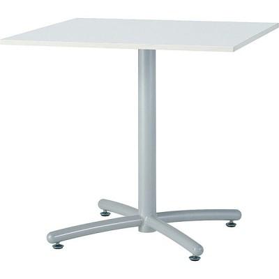 (HTS)ミーティングテーブル(ホワイト脚) 角型 幅750×奥行き750mm HTS-W750K