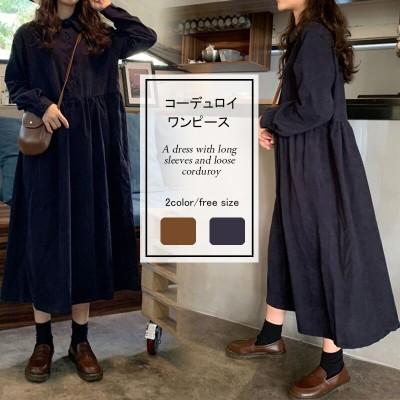 韓国のファッション2019春まで着こなし✨人気がある 韓国ファッショント重ね着風 おしゃれ 可愛 ワンピース パーカーワンピ3
