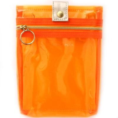 スケルトン 【POCKET+PLUS】 ポケットプラス ショルダーバッグ 9221 オレンジ