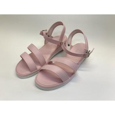 CWE1035 新品、シューズ、靴、介護、看護、サンダル、Lサイズ(23.5cm~24.0cm)、ピンク