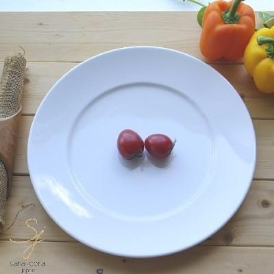 軽量強化磁器 白い食器 スーパーライト30cmパーティーサービスプレート 洋食器 食器 カフェ 人気