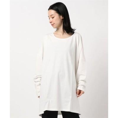 tシャツ Tシャツ コットン100%シンプル長袖ゆったりカットソートップス