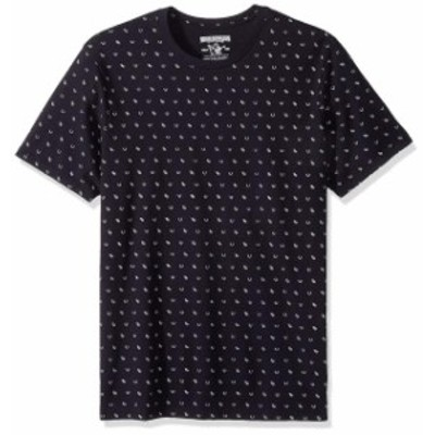 Religion  ファッション トップス True Religion Mens All Over Monogram Tee T-Shirt in Black