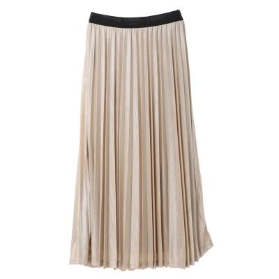 SLF ★箔アコーディオンプリーツスカート