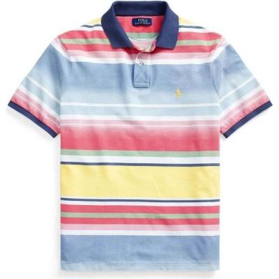 ラルフ ローレン POLO RALPH LAUREN メンズ ポロシャツ トップス custom slim fit mesh polo shirt Yellow