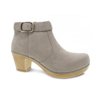 Dansko ダンスコ レディース 女性用 シューズ 靴 ブーツ アンクル ショートブーツ Autumn - Taupe Nubuck