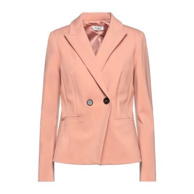 LE COEUR TWINSET テーラードジャケット ペールピンク L レーヨン 60% / ナイロン 35% / ポリウレタン 5% テーラード