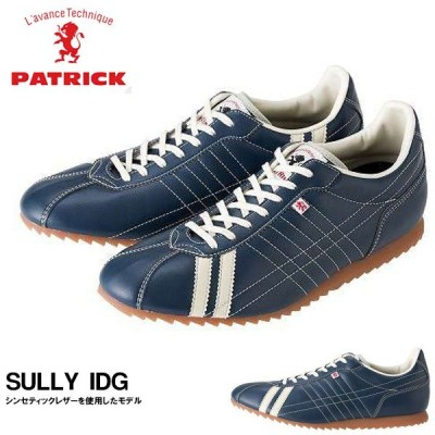 スニーカー パトリック PATRICK メンズ レディース SULLY IDG シュリー インディゴ シューズ 靴 日本製 送料無料