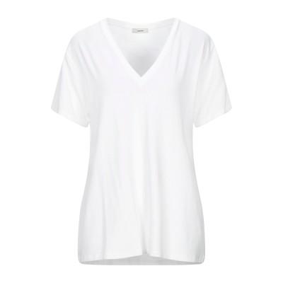 ラルディーニ LARDINI T シャツ ホワイト 46 コットン 95% / ポリウレタン 5% T シャツ