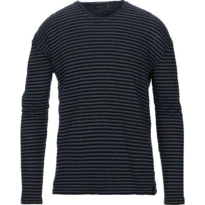 ロベルトコリーナ ROBERTO COLLINA メンズ Tシャツ トップス t-shirt Blue