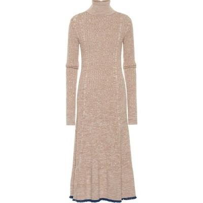 ジル サンダー Jil Sander レディース ワンピース ワンピース・ドレス wool dress Open Beige