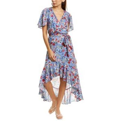 パーカー レディース ワンピース トップス Parker High-Low Maxi Dress lilac Sevilla