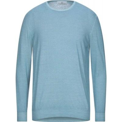 デラ チアーナ DELLA CIANA メンズ ニット・セーター トップス sweater Turquoise