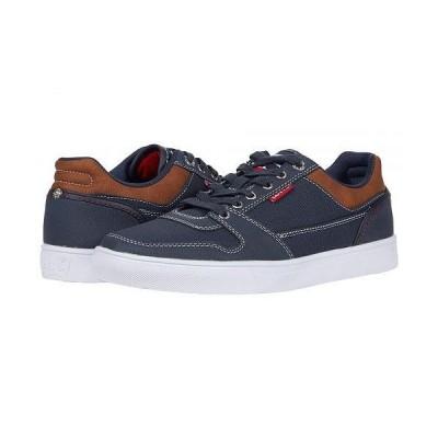 Levi's(R) Shoes リーバイス メンズ 男性用 シューズ 靴 スニーカー 運動靴 Mason LO Olympic - Navy/Red