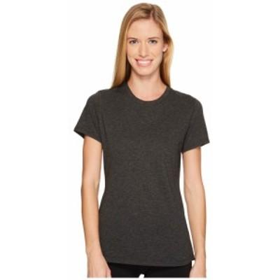 ニューバランス New Balance レディース Tシャツ トップス Heather Tech Tee Black Heather