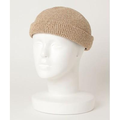 yield / 【Basiquenti】Paper Roll Cap BCA-K11656 MEN 帽子 > キャップ