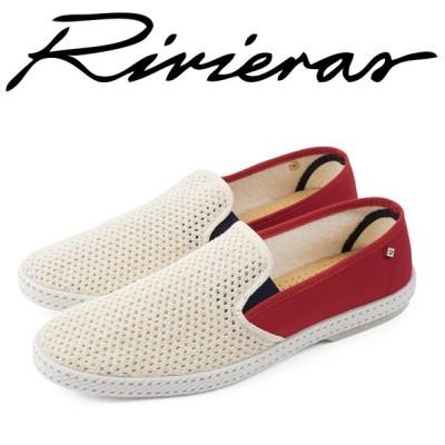 Rivieras リビエラ 2018年春夏 2018SS スリッポン メンズ レディース Croisiere france beige