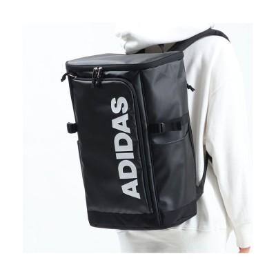 【ギャレリア】 アディダス リュック adidas リュックサック 大容量 スクールバッグ 通学 B4 A4 31L 撥水 ボックス 学生 57575 ユニセックス ブラック系1 F GALLERIA