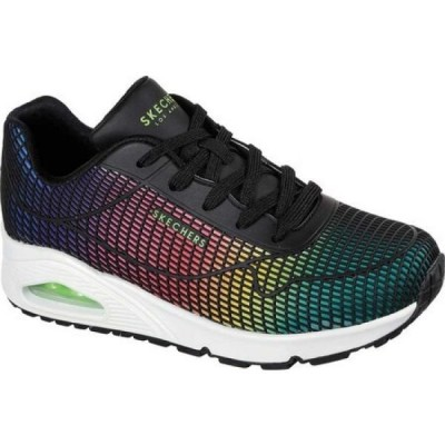 スケッチャーズ Skechers レディース スニーカー シューズ・靴 Uno Eye Catching Sneaker Black/Multi