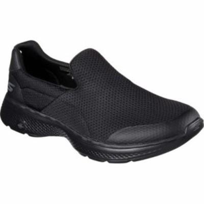 スケッチャーズ スリッポン・フラット GOwalk 4 Incredible Slip-On Black