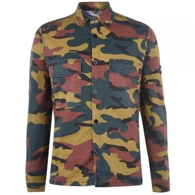 ペンフィールド Penfield メンズ シャツ トップス shirt Camo