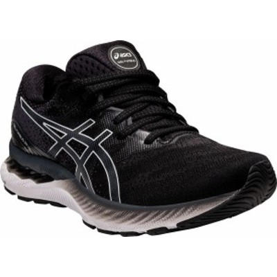 アシックス レディース スニーカー シューズ Women's ASICS GEL-Nimbus 23 Running Sneaker Black/White