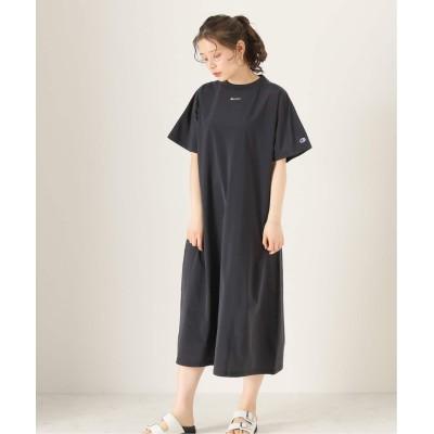 レディース ボイスフロムベイクルーズ 【CHAMPION BLACK / チャンピョンブラック】ONEPIECE DRESS ブラック M