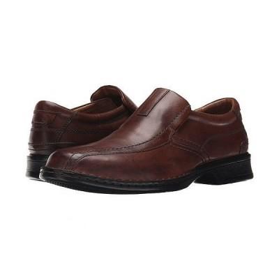 Clarks クラークス メンズ 男性用 シューズ 靴 ローファー Escalade Step - Brown Leather