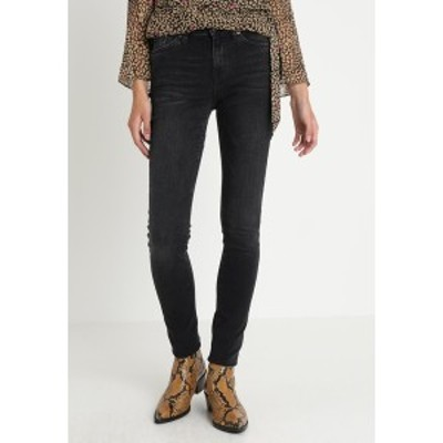 セレクテッドフェム レディース デニムパンツ ボトムス SLFIDA WASH - Jeans Skinny Fit - black denim black denim