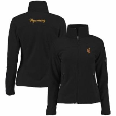Columbia コロンビア スポーツ用品  Columbia Wyoming Cowboys Womens Black Give & Go Full-Zip Jacket