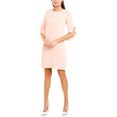 サラキャンベル レディース ワンピース トップス Sara Campbell Shift Dress peach