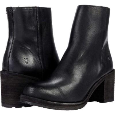 フライ Frye レディース ブーツ シューズ・靴 Karen Inside Zip Short Black Vintage Veg Tan